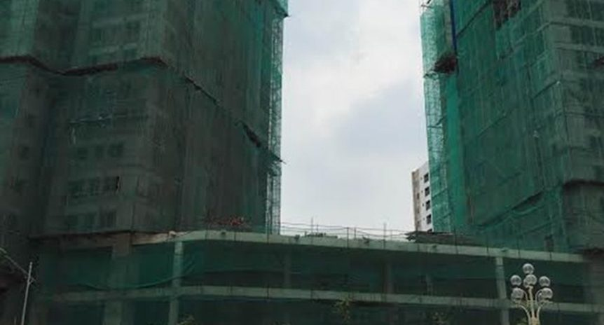 CẬP NHẬT TIẾN ĐỘ CHUNG CƯ HUD2 – TWIN TOWERS, TÂY NAM HỒ LINH ĐÀM ĐẾN NGÀY 12/7/2016